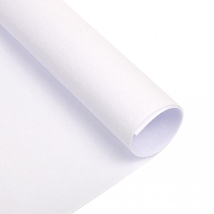 Набор декоративного фетра FSR1.2 -801N5 1,2мм 22см х 30см (5 листов, цвет белоснежный) Корея