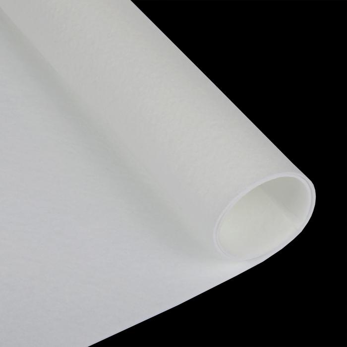Набор декоративного фетра FSR1.2-802N5 1,2мм 22см х 30см (5 листов, цвет белый) Корея