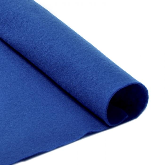Фетр в рулоне жесткий IDEAL 1мм 100см арт.FLT-H2 уп.1м цв.675 синий