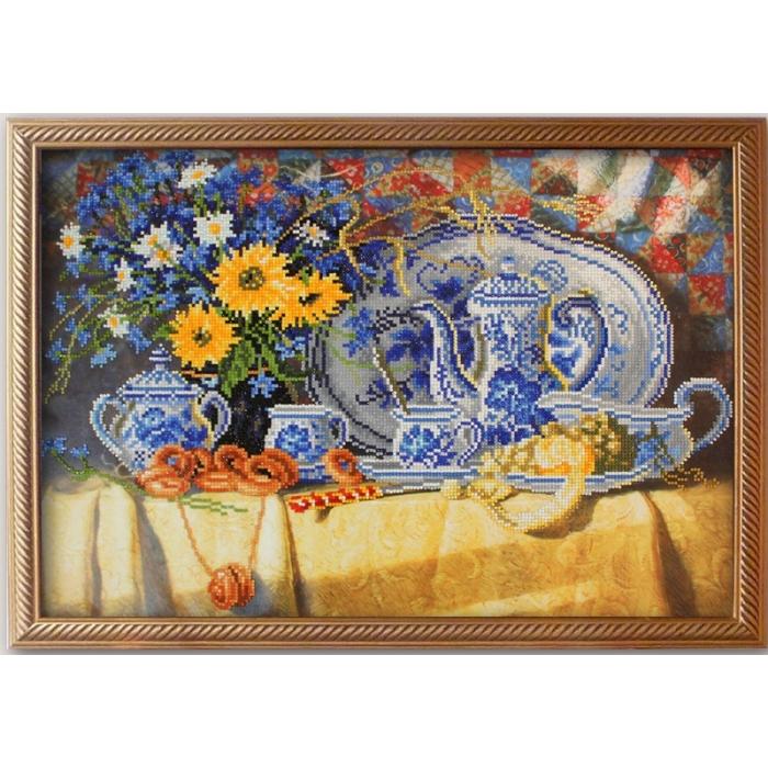 Набор Колор Кит мозаичная картина арт.КК.10023 Чаепитие 40х60