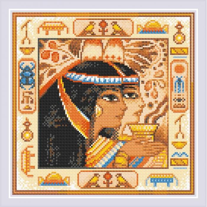Набор РИОЛИС мозаичная картина арт.АМ0057 Египет 30х30 см