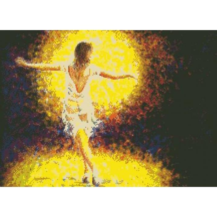 Набор алмазной живописи Империя бисера арт.IB-3009 Янтарная нега 40х55 см