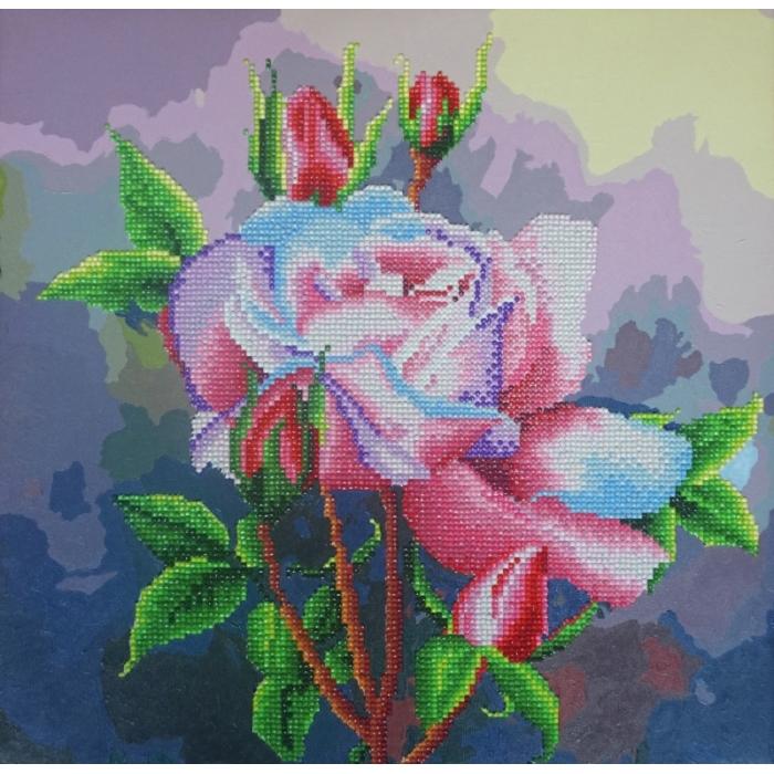 Набор Колор Кит алмазная картина-раскраска арт.КК.RF004 Сиреневый аккорд 40х40