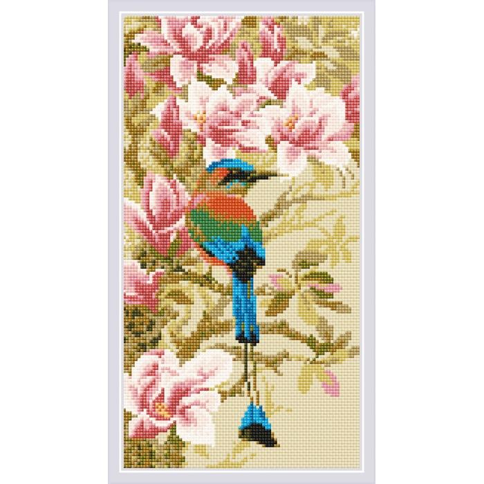 Набор РИОЛИС мозаичная картина арт.AM0046 Момот 20х38 см