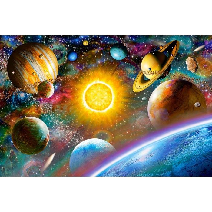 Алмазная мозаика Ah5225 Красочная вселенная 40х60