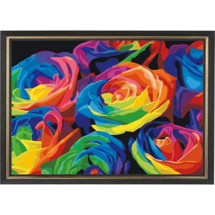 Набор Колор Кит картина со стразами арт.КК.CKC001 Розы 40х50