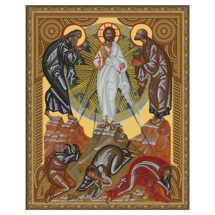 Картина 5D мозаика с нанесенной рамкой Molly арт.KM0795 Вознесение Господне (10 цветов) 40х50 см