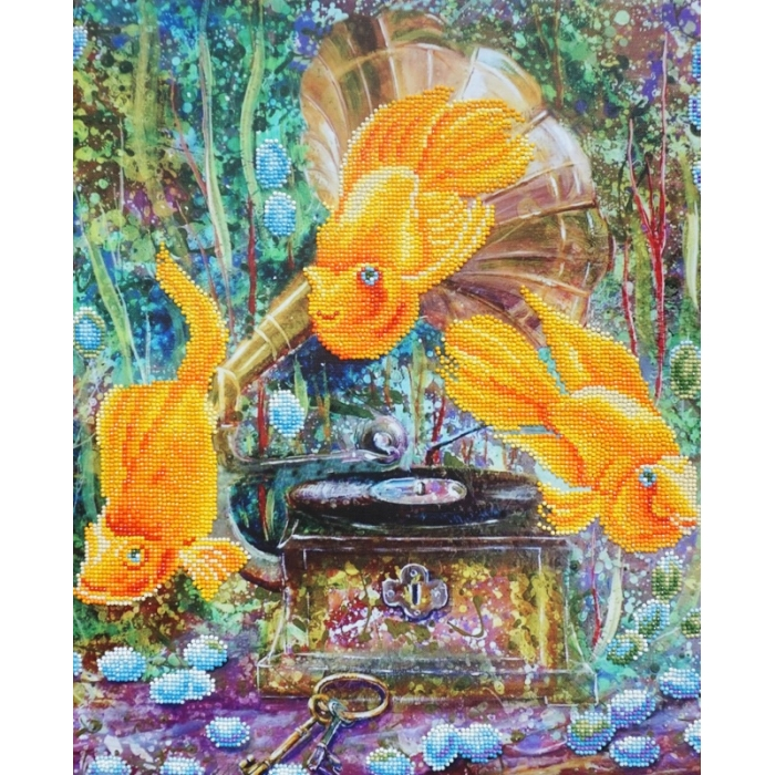 Набор Колор Кит картина алмазная арт.КК.KU007 Симфония океана 40х50