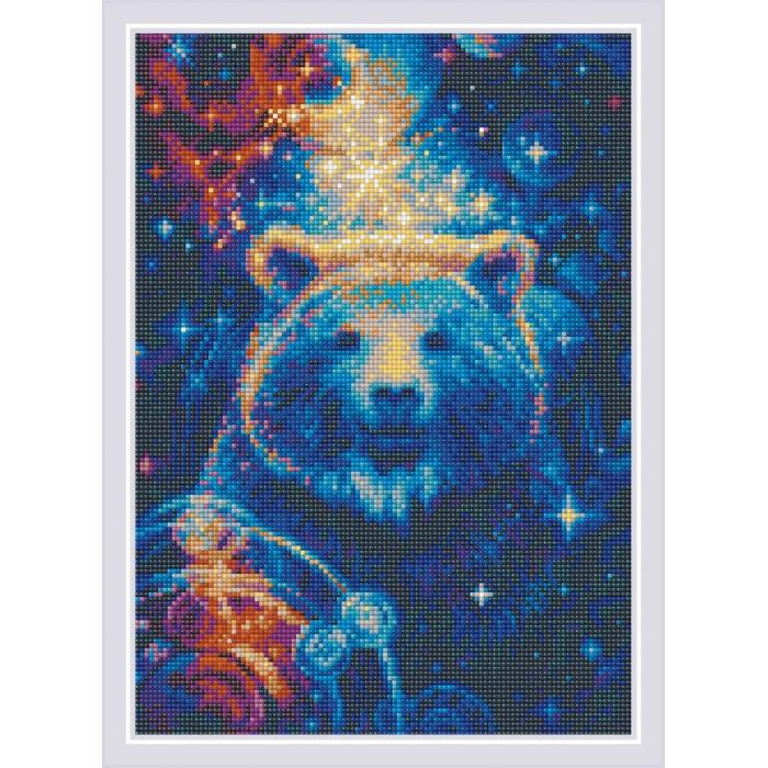 Набор РИОЛИС мозаичная картина арт.AM0050 Большая медведица 27х38 см