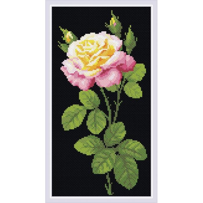 Набор РИОЛИС мозаичная картина арт.AM0024 Дивный цветок 20х38 см