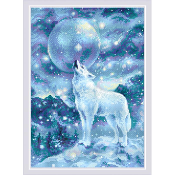 Набор РИОЛИС мозаичная картина арт.AM0042 Ледяной ветер 27х38 см