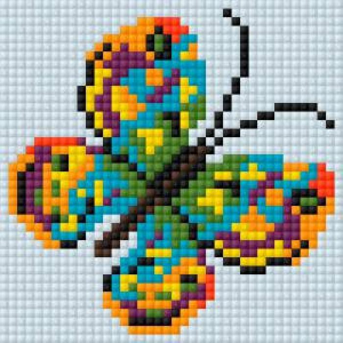 Алмазная мозаика Ah5213 Бабочка 10х10