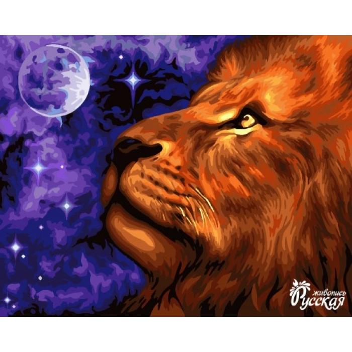 Картины по номерам Русская Живопись ФТ.H073 Лунное царство 40х50 см