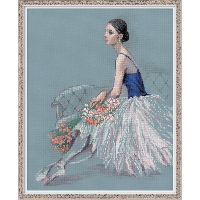 Набор для вышивания РИОЛИС арт.100/054 Балерина 40х50 см