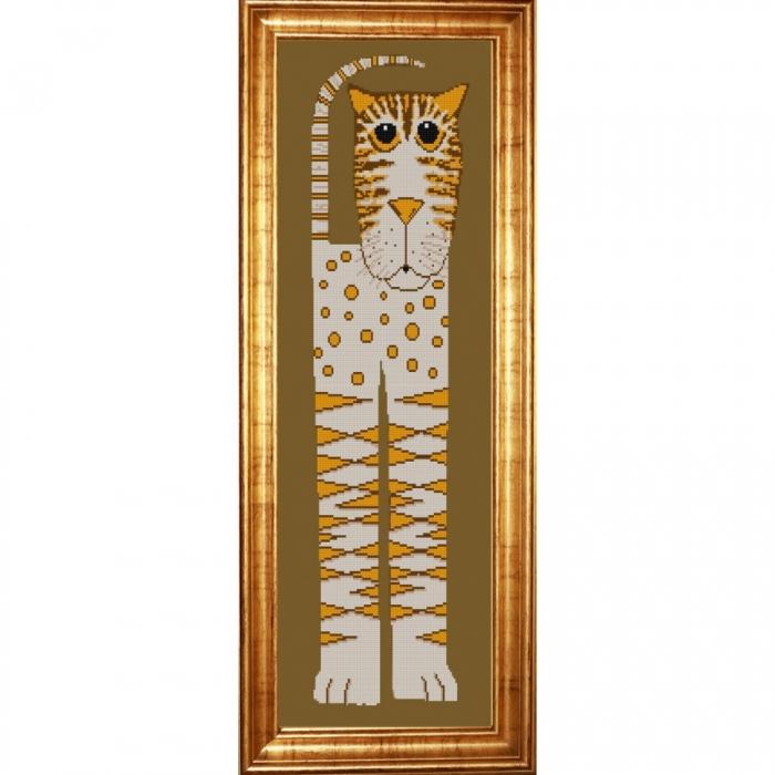 Рисунок на ткани (Бисер) КОНЁК арт. 9934 Саванна 4 25х65 см
