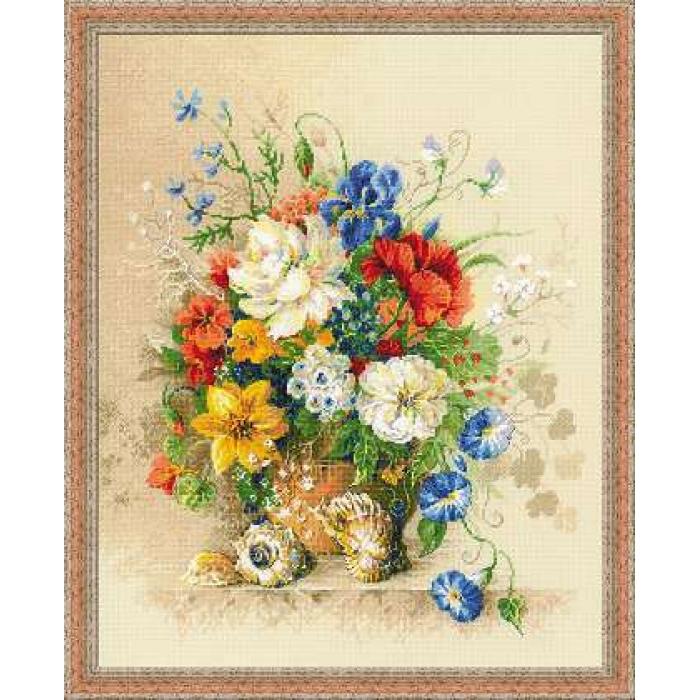 Набор для вышивания РИОЛИС арт.100/042 Фламандское лето 40х50 см