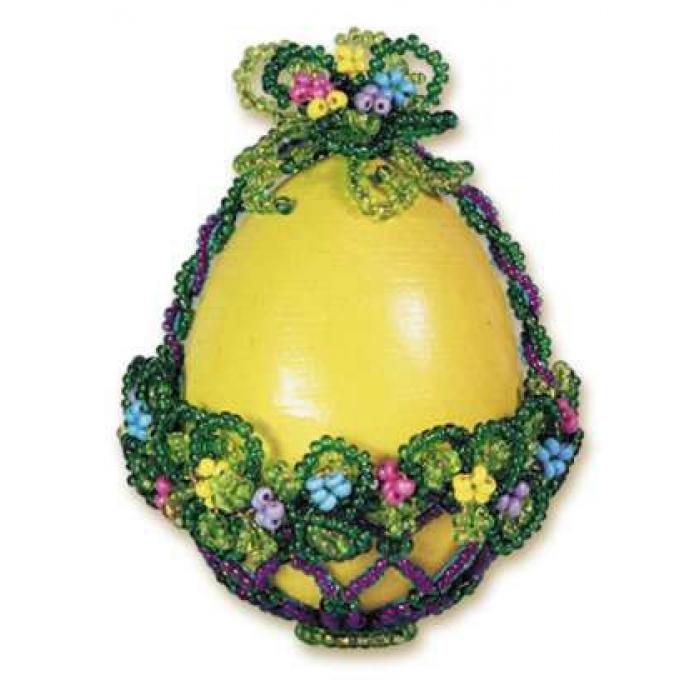 Набор для бисероплетения РИОЛИС арт.Б015 Яйцо корзинка 7х5 см