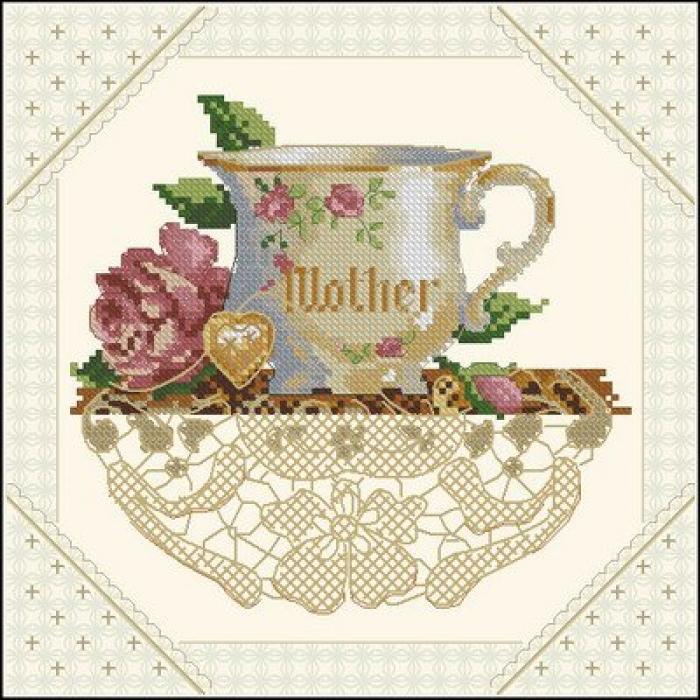 Набор для вышивания DIMENSIONS арт.DMS-06709 Мама 15х15 см