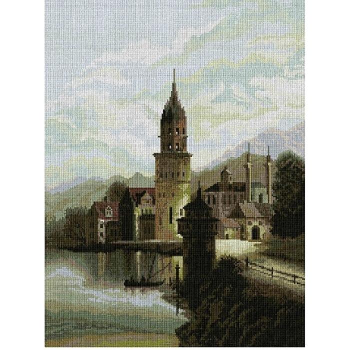 Набор для вышивания мулине НИТЕКС арт.0032 Голландия 40х50 см