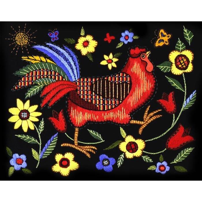 Набор для вышивания DIMENSIONS арт.DMS-01543 Красный петушок 36х28 см