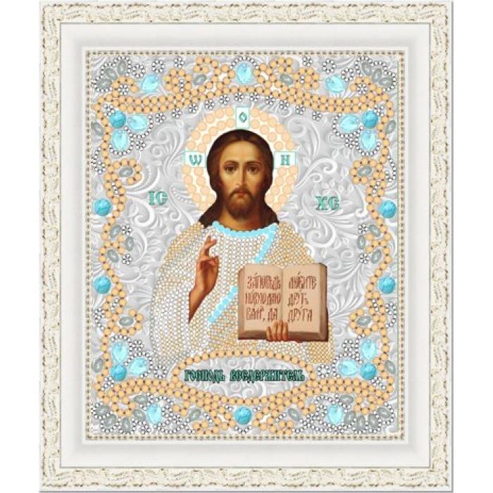 Рисунок на ткани (Бисер) КОНЁК арт. 7117 Господь Вседержитель 15х18 см