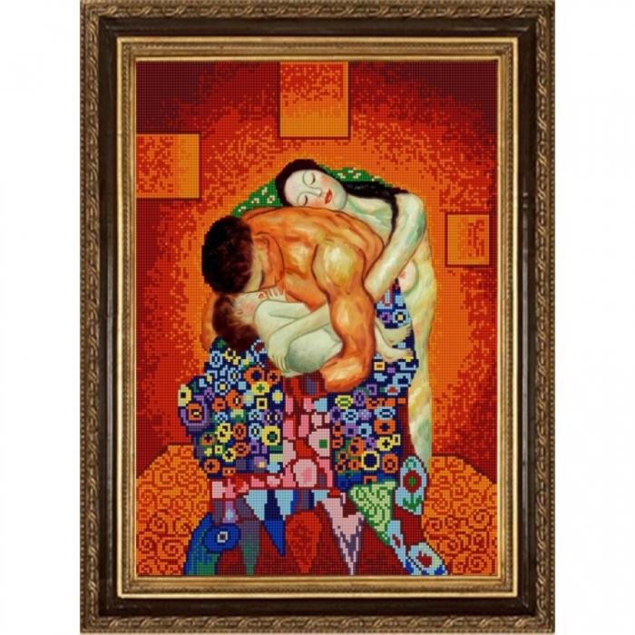 Рисунок на ткани КОНЁК арт. 1353 Семья (Г. Климт) 29х39 см
