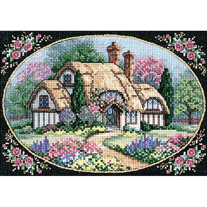 """Набор для вышивания Classic Design арт.4354 """"Милый дом"""" 20х14 см"""