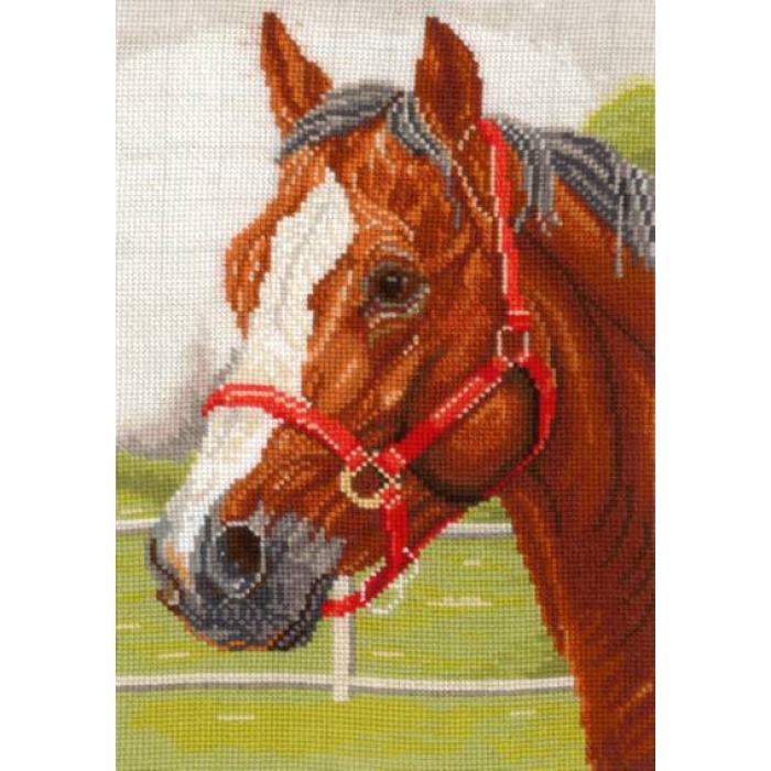 Набор для вышивания СДЕЛАЙ СВОИМИ РУКАМИ арт.Г-05 Горячий конь 18х26 см