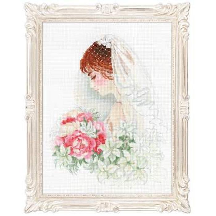 Набор для вышивания РИОЛИС арт.100/050 Невеста 30х40 см