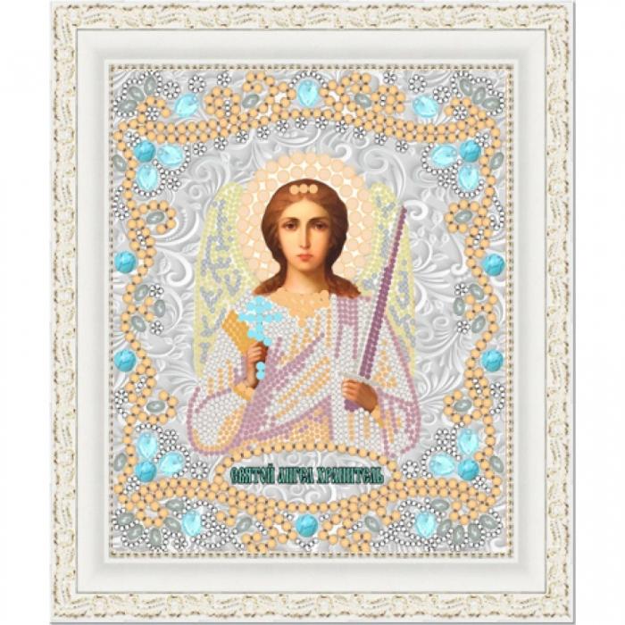 Рисунок на ткани (Бисер) КОНЁК арт. 7121 Св. Ангел Хранитель 15х18 см