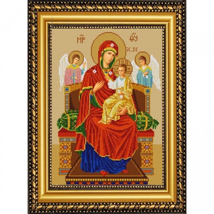 Рисунок на ткани (Бисер) КОНЁК арт. 9219 Богородица Всецарица 29х39см