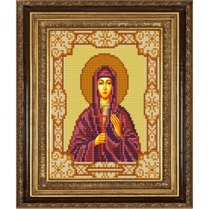 Рисунок на ткани (Бисер) КОНЁК арт. 9180 Святая Валентина 15х18 см