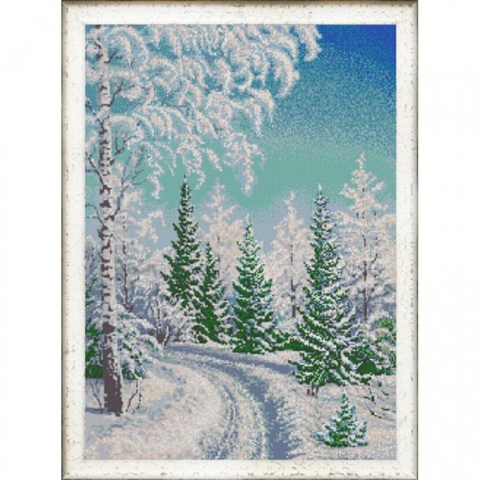 Рисунок на ткани (Бисер) КОНЁК арт. 9983 Зачарованный лес 45х60 см