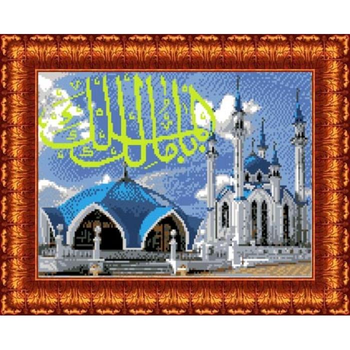 Канва с нанесенным рисунком КАРОЛИНКА арт. КК-013 Мечеть Кул Шариф 20,3х30 см