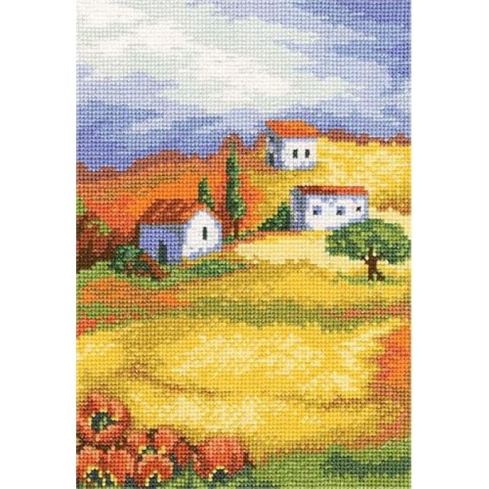 Набор для вышивания РТО арт.C167 Солнечная Тоскана 13х19 см