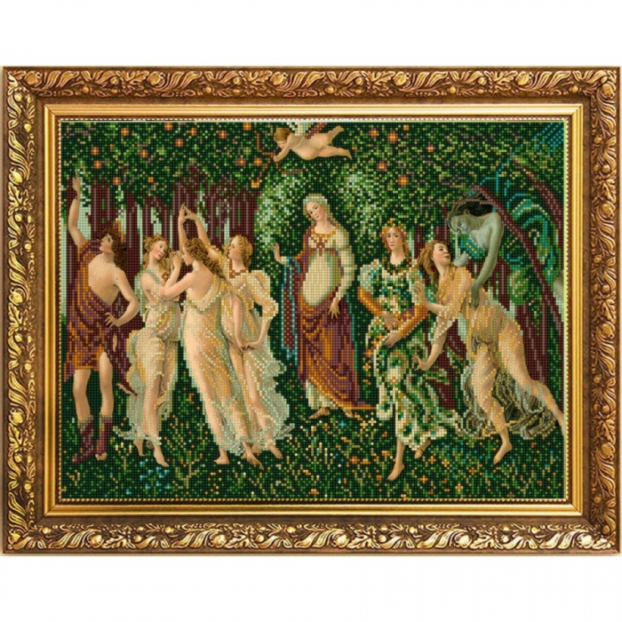 Рисунок на ткани КОНЁК арт. 1354 Весна (Ботичелли) 29х39 см