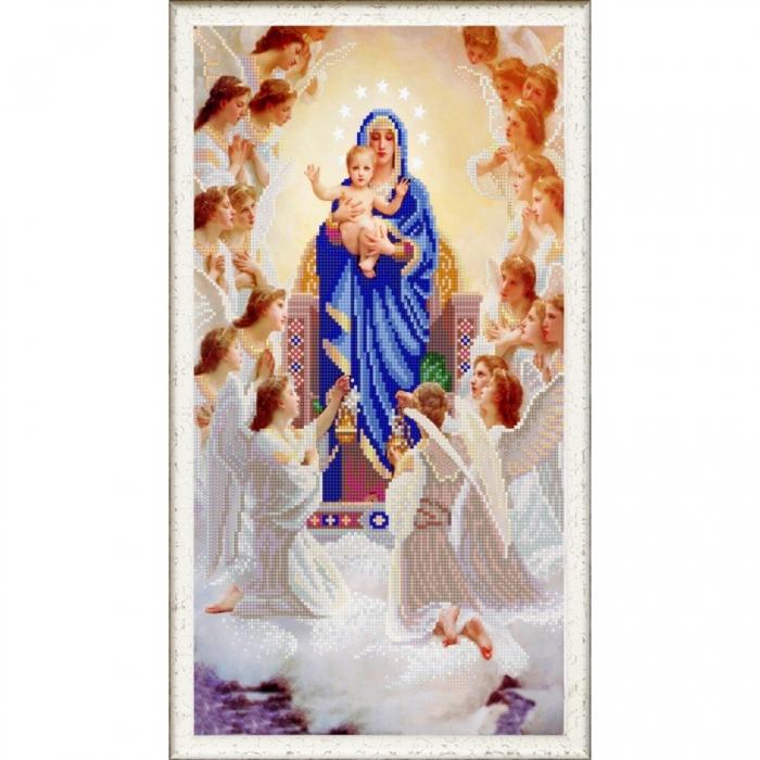 Рисунок на ткани (Бисер) КОНЁК арт. 1244 Пение ангелов 25х45 см