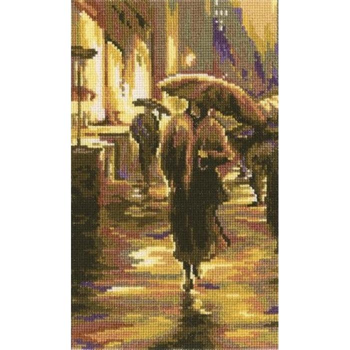 Набор для вышивания РТО арт.C162 Просто дождь 13х22 см