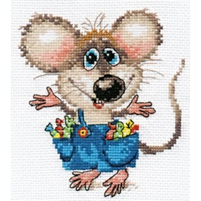 Набор для вышивания АЛИСА арт.0-104 Будет праздник 12х13 см