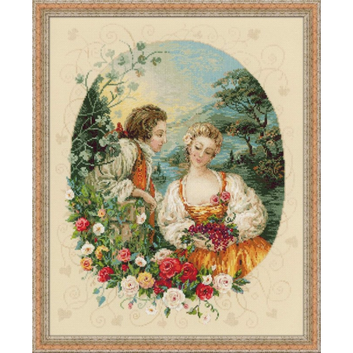 Набор для вышивания РИОЛИС арт.100/047 Пастораль 40х50 см