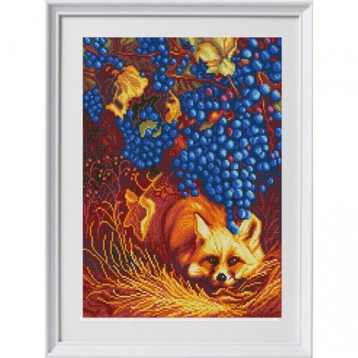 Рисунок на ткани (Бисер) КОНЁК арт. 1316 Лиса 29х39 см