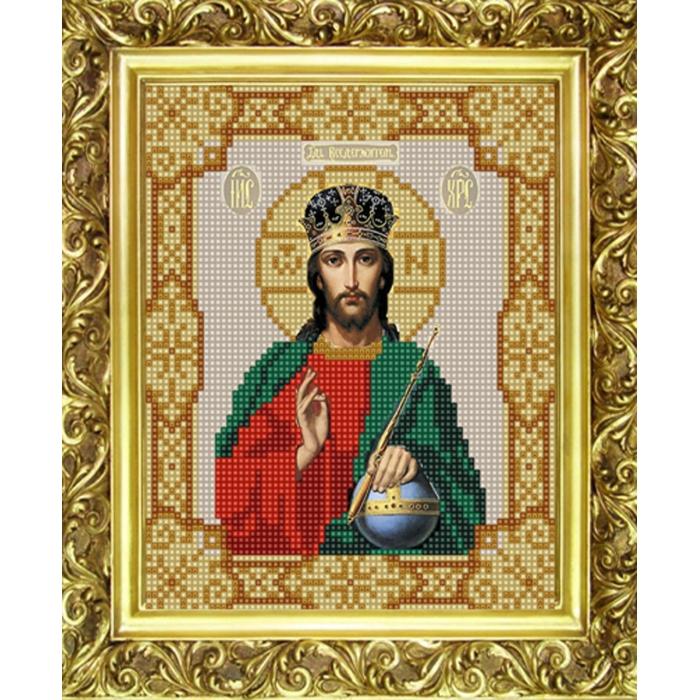 Рисунок на ткани (Бисер) КОНЁК арт. 9110 Господь Вседержитель 15х18 см