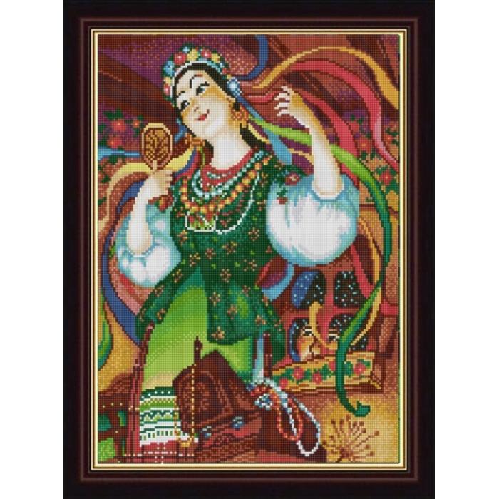 Рисунок на ткани (Бисер) КОНЁК арт. 1275 Оксана 29х39 см