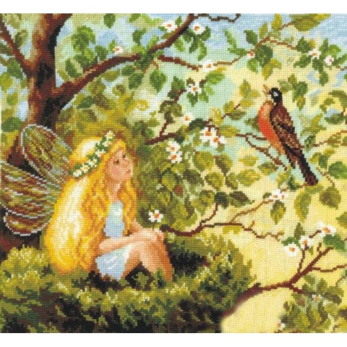 Набор для вышивания СДЕЛАЙ СВОИМИ РУКАМИ арт.В-17 Волшебная песня 31х29 см
