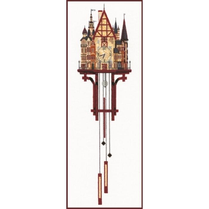 Набор для вышивания СДЕЛАЙ СВОИМИ РУКАМИ арт.В-10 Волшебные часы 30х95 см