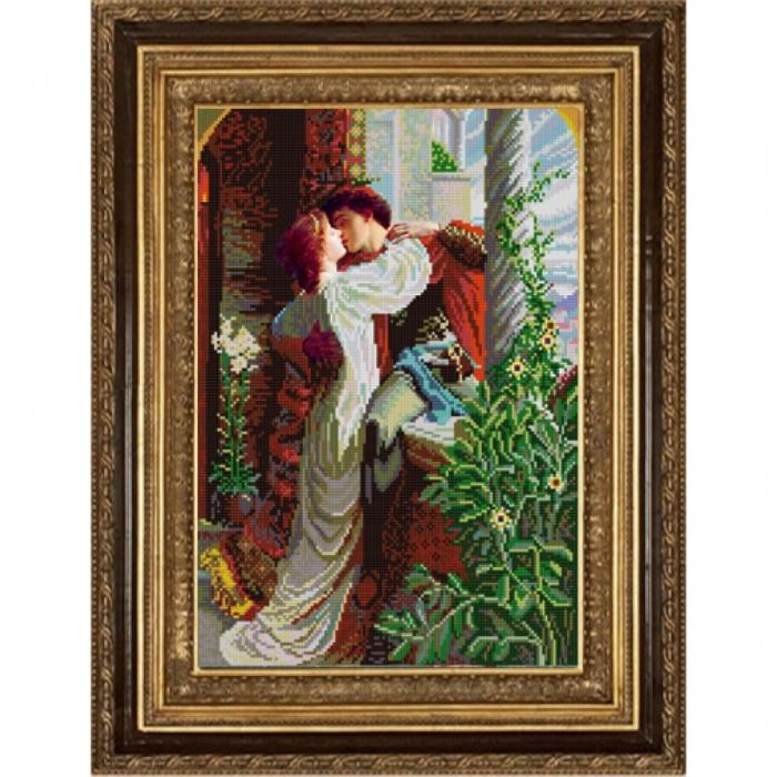 Рисунок на ткани (Бисер) КОНЁК арт. 9999 Ромео и Джульетта 29х39 см
