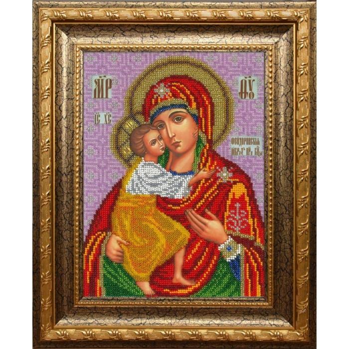 Набор для вышивания бисером ВЫШИВАЕМ БИСЕРОМ арт.L146 Феодоровская 19х25,5см