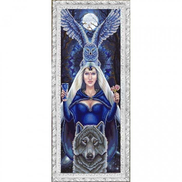Рисунок на ткани (Бисер) КОНЁК арт. 9922 Легенды леса 25х65 см