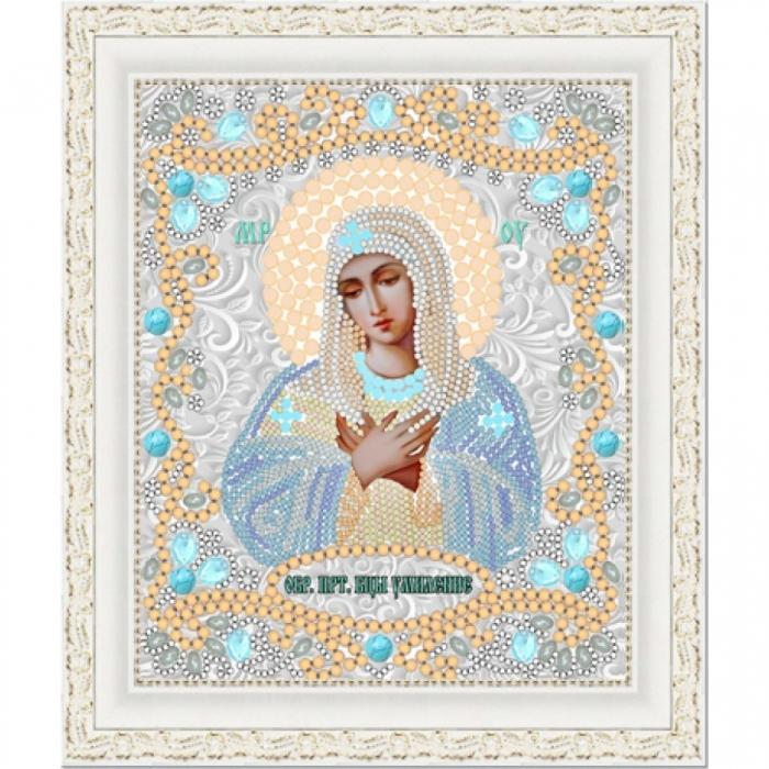 Рисунок на ткани (Бисер) КОНЁК арт. 7122 Богородица Умиление 15х18 см