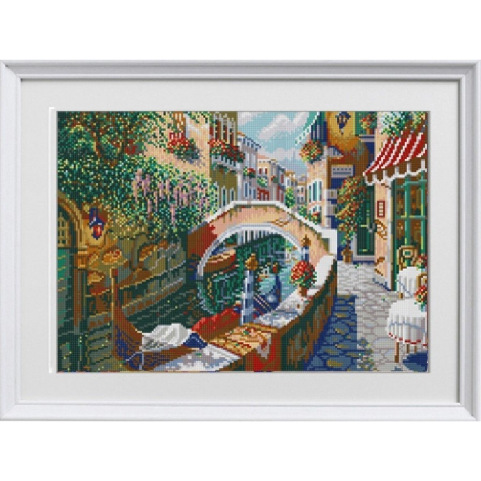 Рисунок на ткани (Бисер) КОНЁК арт. 1285 Венеция 29х39 см